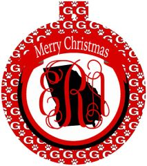 Georgia Christmas Personalized Ornament