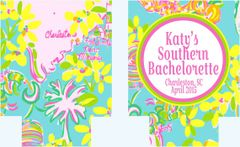 Bachelorette or Birthday Party South Carolina Coozies