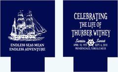 Sailing Ship Nautical Party Huggers