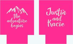 Pink Mountain Party Huggers