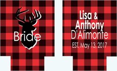 Buffalo Plaid Party Huggers