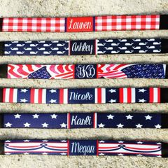 Red White and Blue Sunglass Straps