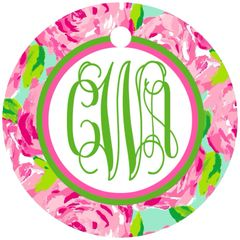First Impression Lilly Monogram Keychain