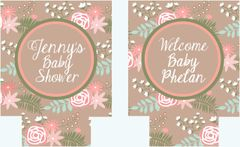 Floral Party Huggers