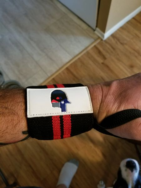 Lift Bearded Wrist Wraps