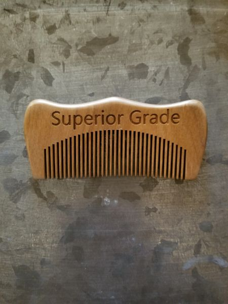 Superior Green Sandalwood Comb