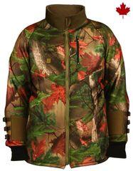 Big Bill Polyester Soft Shell Archery Camo Jacket; Style: BBHARC4