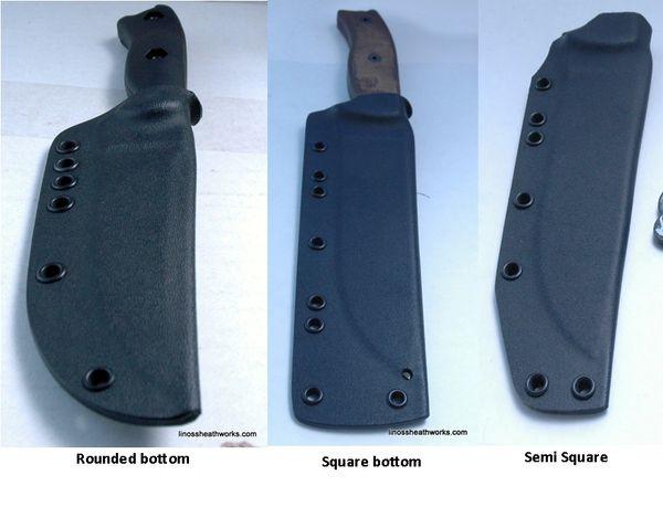 Tops Knives Sheaths Custom Made Kydex Knife Sheaths
