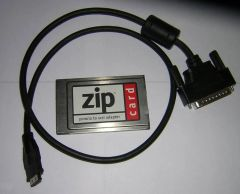 Iomega Zip SCSI PCMCIA Adapter PC Card + Cable