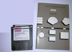 Manual and Driver Install Diskettes for DEC Fast EtherWORKS PCI Card DE500-B