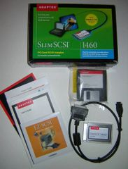 Adaptec SlimSCSI PCMCIA SCSI Adapter PC Card Kit 1460D