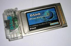 D-Link CardBus10/100 Fast Ethernet LAN PC Card with Integrated Jack DFE-680TXD