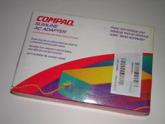 Compaq Contura Aero 4/25 4/33c AC/DC Power Adapter Genuine NEW