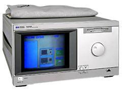 HP 16500B Logic Analysis Mainframe with 16510A State/Timing Analyzer
