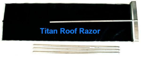 ROOF RAZOR TITAN MODEL - 3 FOOT WIDTH (comes with four 6 foot pole sections - 24 feet total)