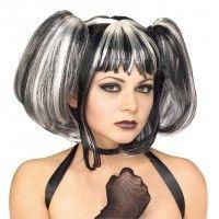 Goth Streaked Fairy Wig Item# 51333 (R)