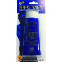 3.4 Oz Blue Body Paint Item# 35854 (R)