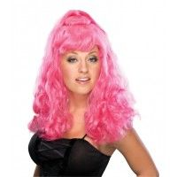 Hot Pink Spicy Girl Wig Item# 50474