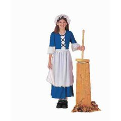 COSTUME-CH.COLONIAL GIRL LARGE - Item #54149L(F)