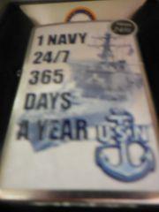 The Navy Zippo