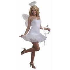 ANGEL PETTICOAT DRESS-WHITE - Item #66341 (f)