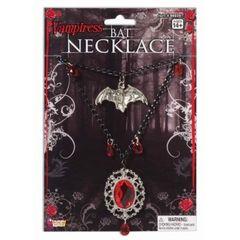 VAMPIRESS BAT NECKLACE - Item #66035