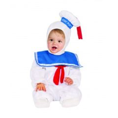 EZ-On Romper Toddler Stay Puft Marshmallow Man Costume Item# 510168