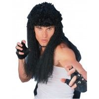 Curly Hair Wig - Black Item# 50740 (R)