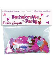 Bachelorette Party Pecker Confetti