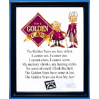 The Golden Years Plaque