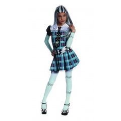 Checkered Dress Kids Frankie Stein Costume Item# 884786(R)