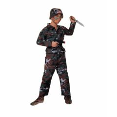 COSTUME-CH.ARMY SOLDIER MEDIUM - Item #53264M