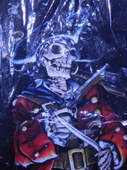 Pirate Skeleton with gun (m)