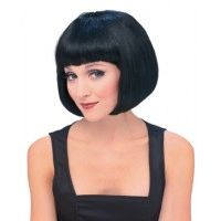 Super Model Black Wig Item# 50425 (R)