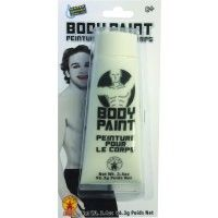 3.4 Oz White Body Paint Item# 35851
