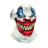 Chopper Clown Latex Mask Item# 68331 (r)