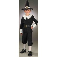 CHILD-PILGRIM BOY-LARGE 59578L(F)