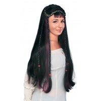 Fair Maiden Wig - Black Item# 50676 (R)