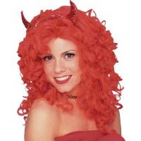 Glamour Wig - Red Item# 50713 (R)