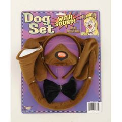ANIMAL SET W/SOUND-DOG - Item #61675
