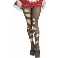 Black Ripped Stockings Item# 6332 (R)