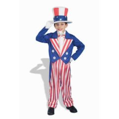 COSTUME-CHILD UNCLE SAM MEDIUM - Item #56684M