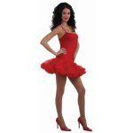 RED PETTICOAT DRESS - Item #66347