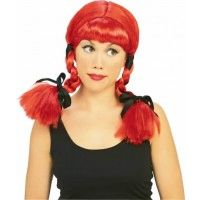 Red Country Girl Wig Item# 50492 (R)