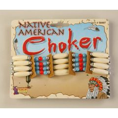 DELUXE NATIVE AMERICAN CHOKER - Item #58497