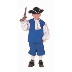 COSTUME-CH. COLONIAL BOY SMALL - Item #54148S