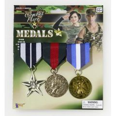 MILITARY MEDALS-3 SET - Item #66224 (F)