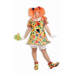 COSTUME-GIGGLE THE CLOWN-PLUS - Item #61874(F)