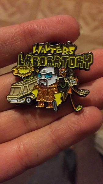 Walter's Lab Hatpin