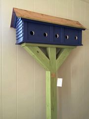 The Blue Bird Tavern - Common use birdhouse